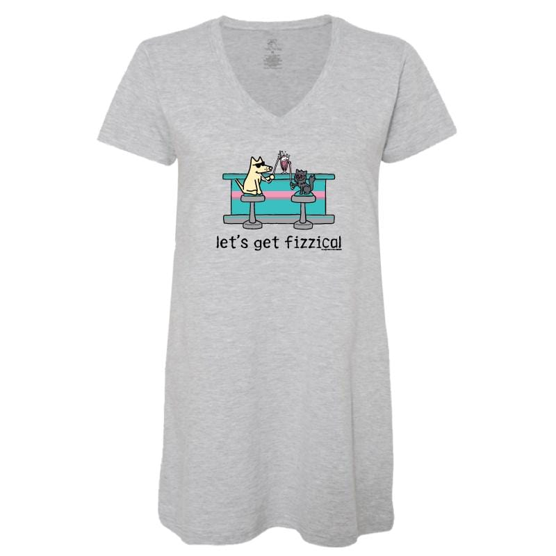 Let's Get Fizzical - Ladies Night T-Shirt