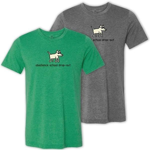 obedience school dropout lightweight t-shirt