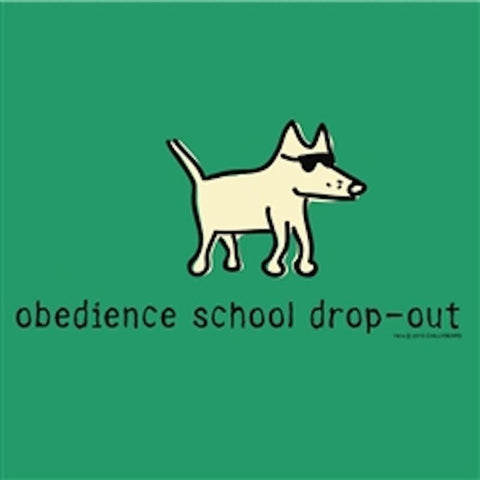 Obedience School Dropout T-Shirt - Kids - Teddy the Dog T-Shirts and Gifts