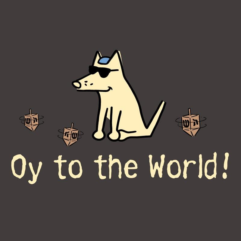 Oy To The World! - Sweatshirt Pullover Hoodie