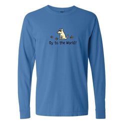 Oy To The World! - Classic Long-Sleeve T-Shirt
