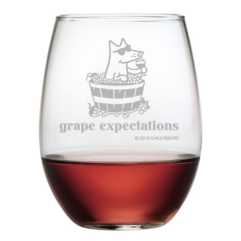 Grape Expectations - Wine Glass