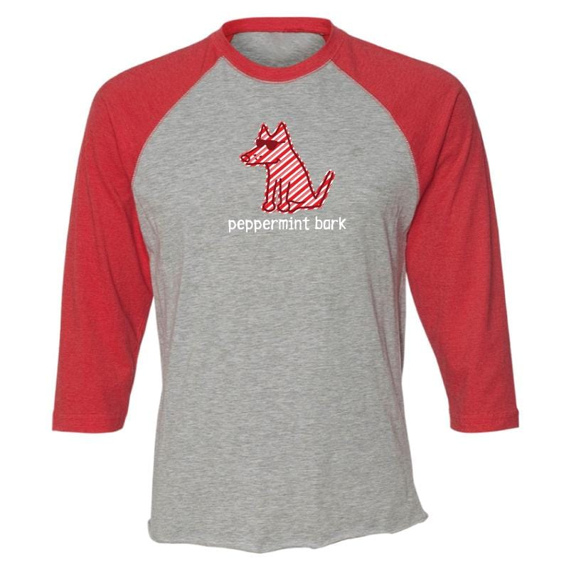 Peppermint Bark - Baseball T-Shirt