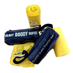 Teddy's Heavy Doody Duffle Pack - Teddy the Dog T-Shirts and Gifts