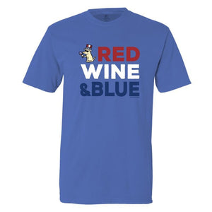 Red Wine And Blue - Classic Tee