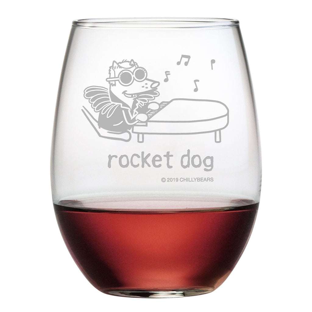 Rocket Dog - Wine Glass