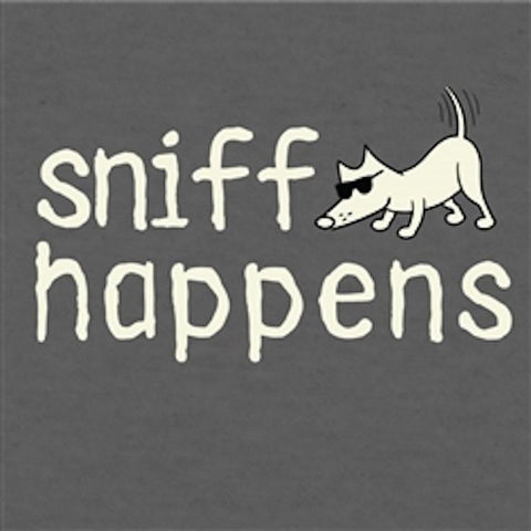 Sniff Happens - T-Shirt Lightweight Blend - Teddy the Dog T-Shirts and Gifts