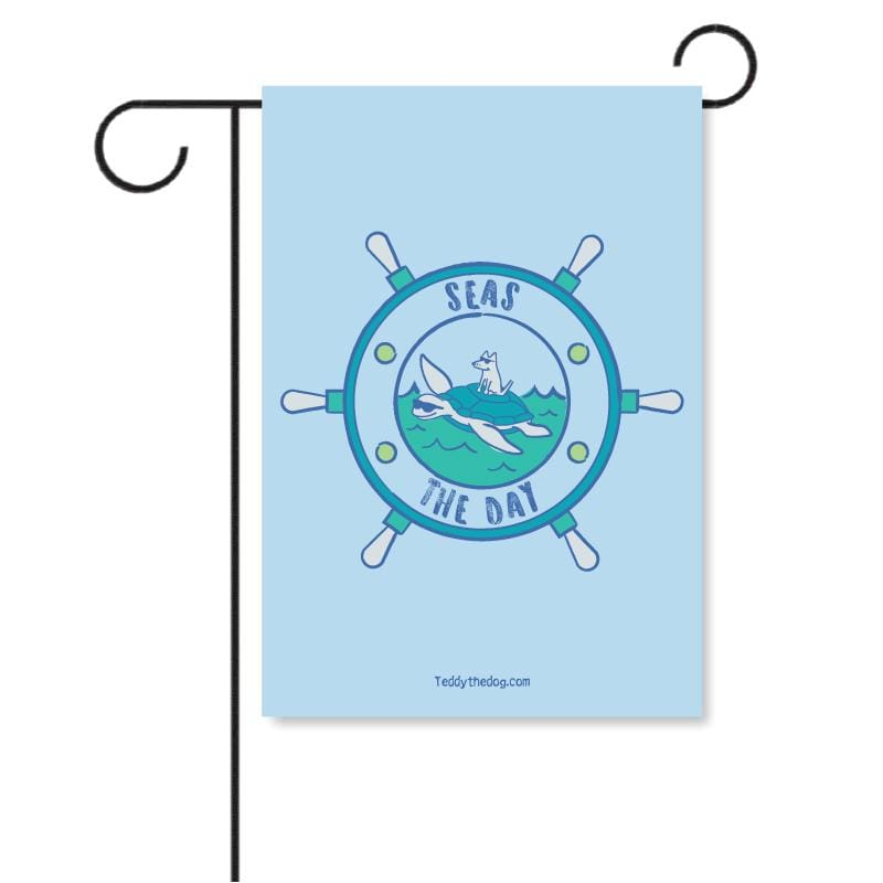 Seas The Day - Garden Flag