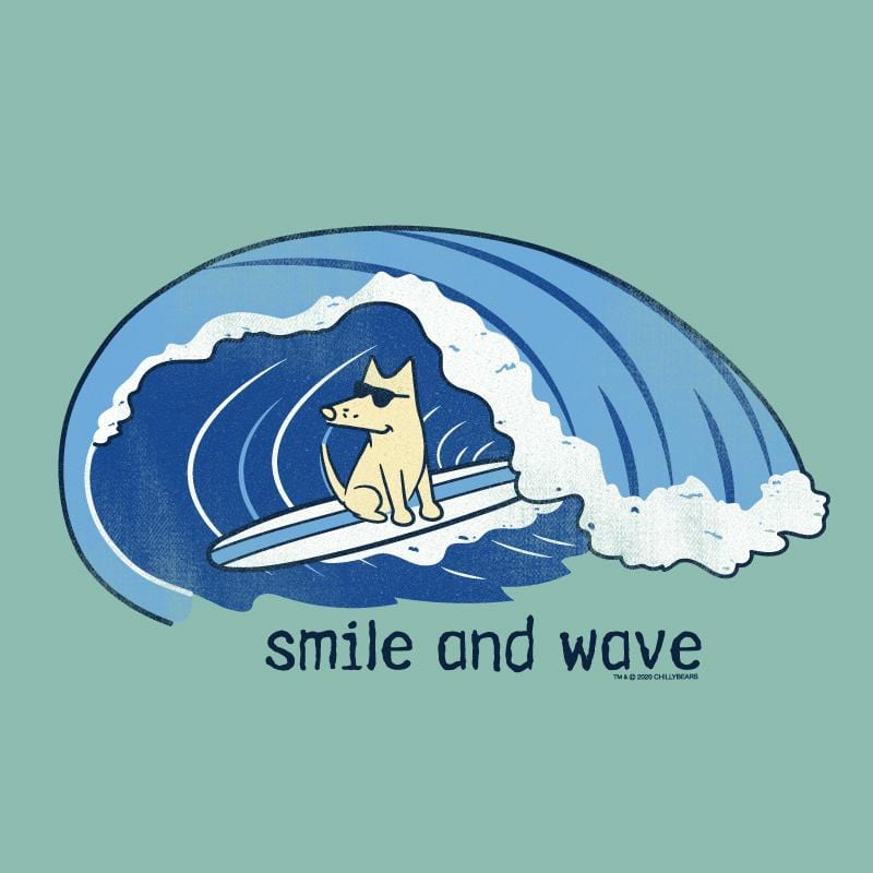 Smile And Wave - Lightweight Tee