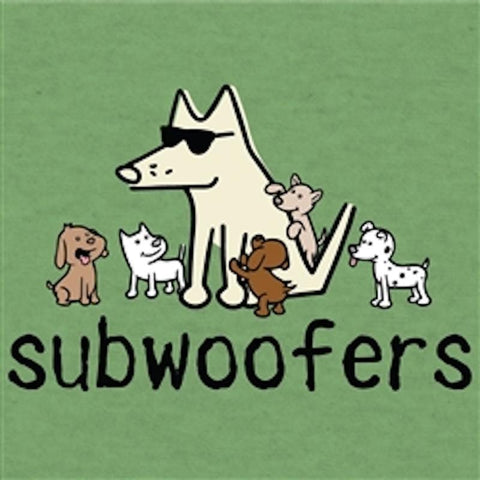 Subwoofers - T-Shirt Lightweight Blend - Teddy the Dog T-Shirts and Gifts