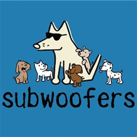 Subwoofers - T-Shirt - Classic Garment Dyed - Teddy the Dog T-Shirts and Gifts