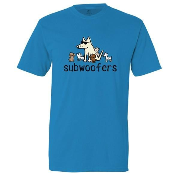 subwoofers garment dyed classic t-shirt