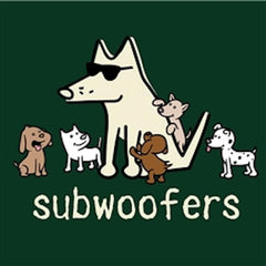 Subwoofers T-Shirt - Kids - Teddy the Dog T-Shirts and Gifts