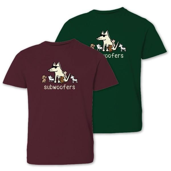 subwoofers youth t-shirt