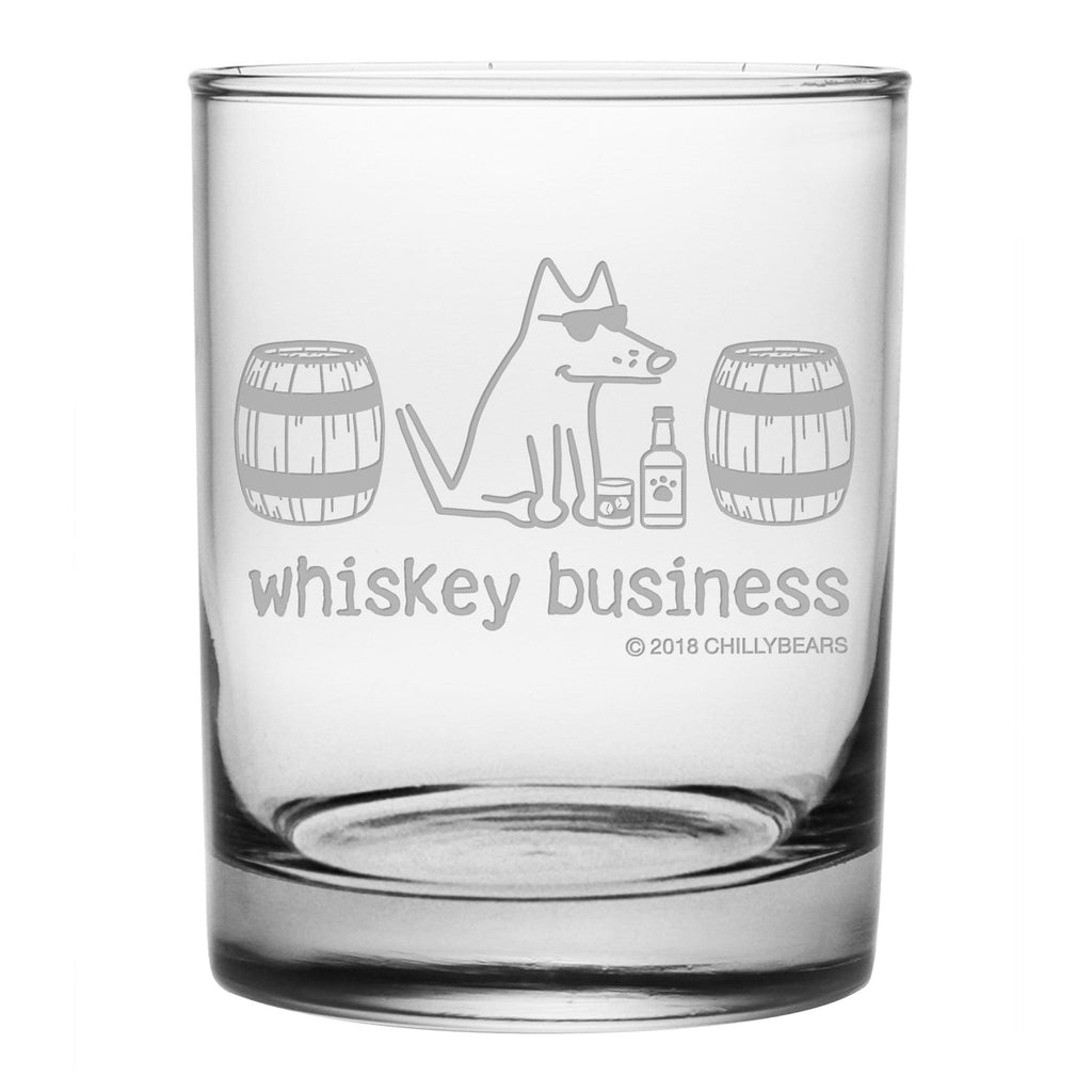 Whiskey Business - Double Rocks Glass
