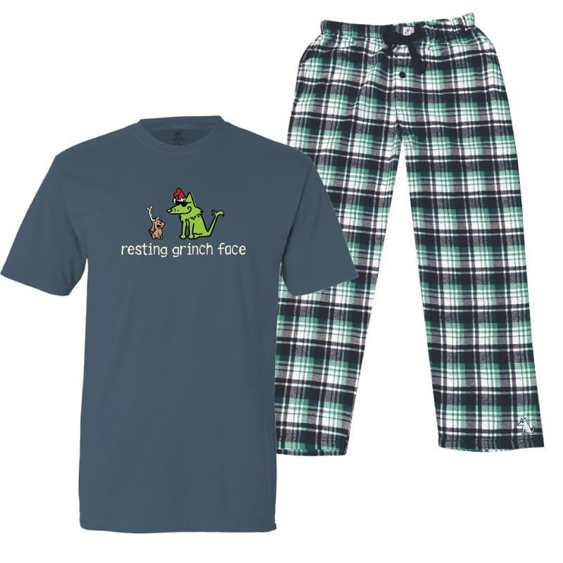 Resting Grinch Face - Pajama Set