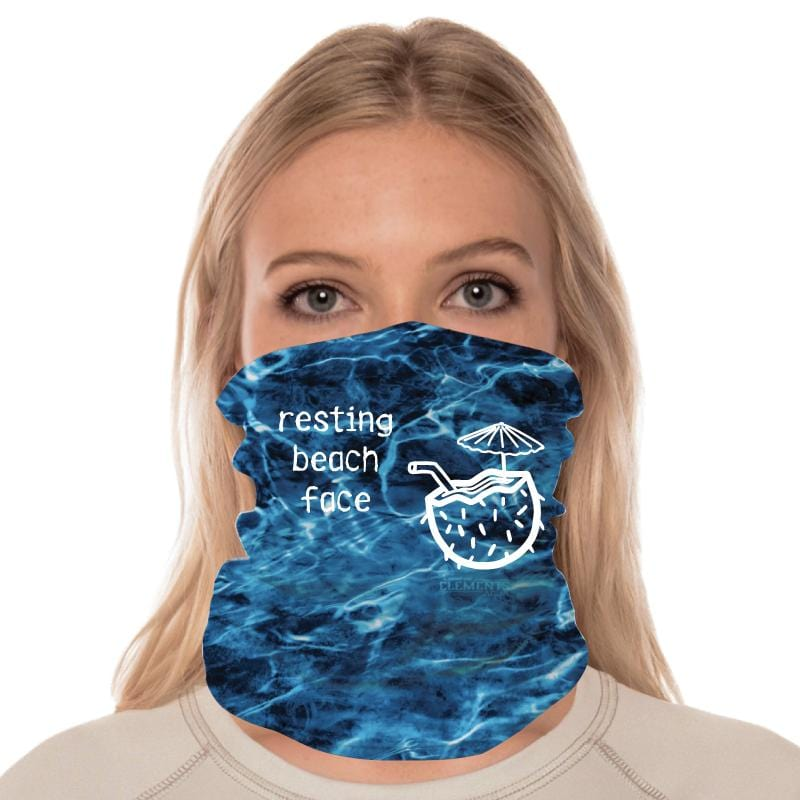 Resting Beach Face - Gaiter