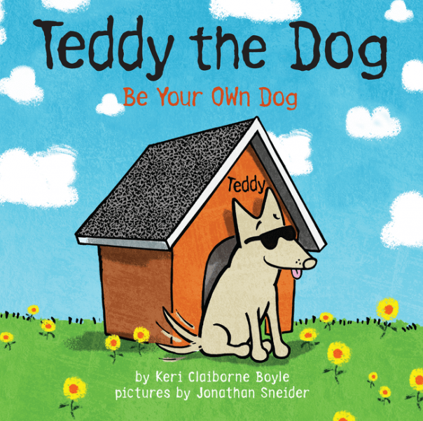 teddy the dog be your own dog picture book autographed