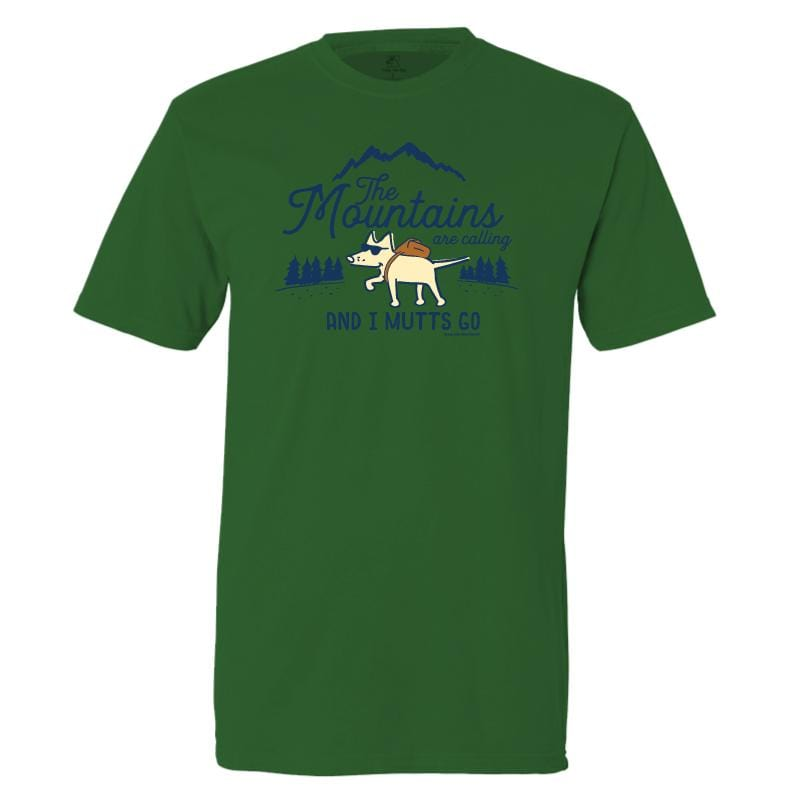 The Mountains Are Calling And I Mutts Go - Classic Tee
