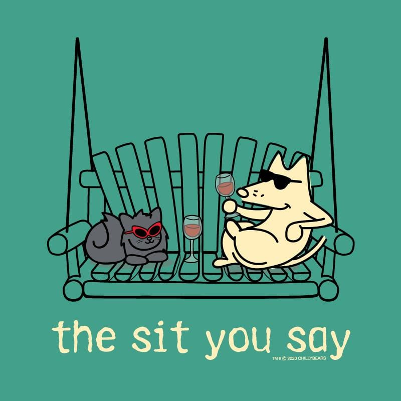 The Sit You Say - Classic Long-Sleeve T-Shirt