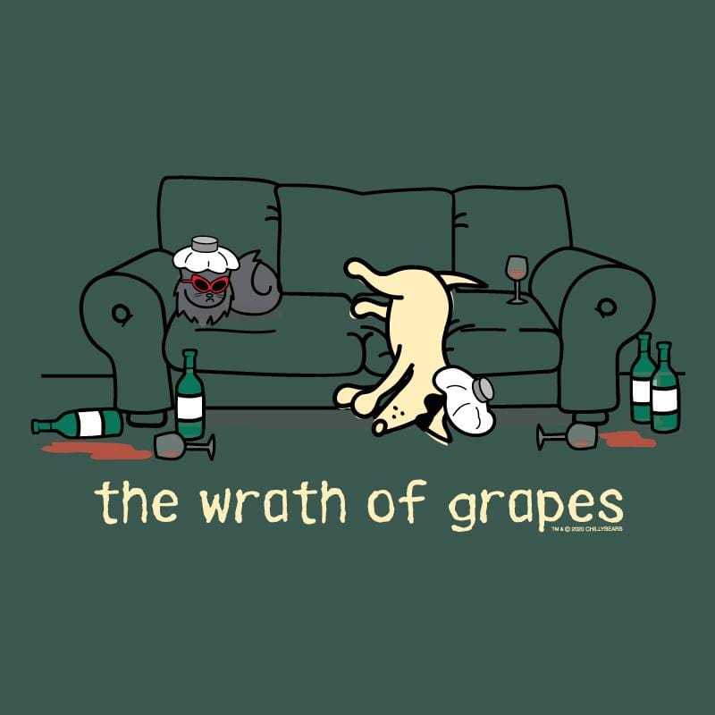 The Wrath Of Grapes - Classic Tee