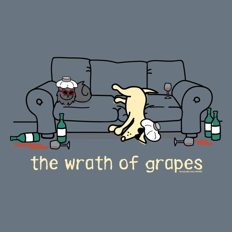 The Wrath Of Grapes - Lightweight Tee