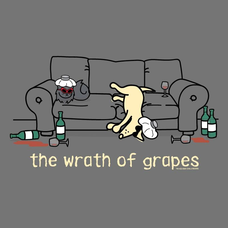 The Wrath Of Grapes - Classic Long-Sleeve T-Shirt