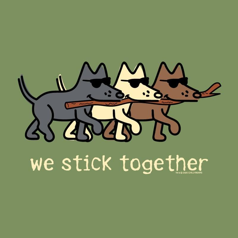 We Stick Together - Lightweight Tee