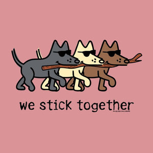 We Stick Together - Ladies T-Shirt V-Neck