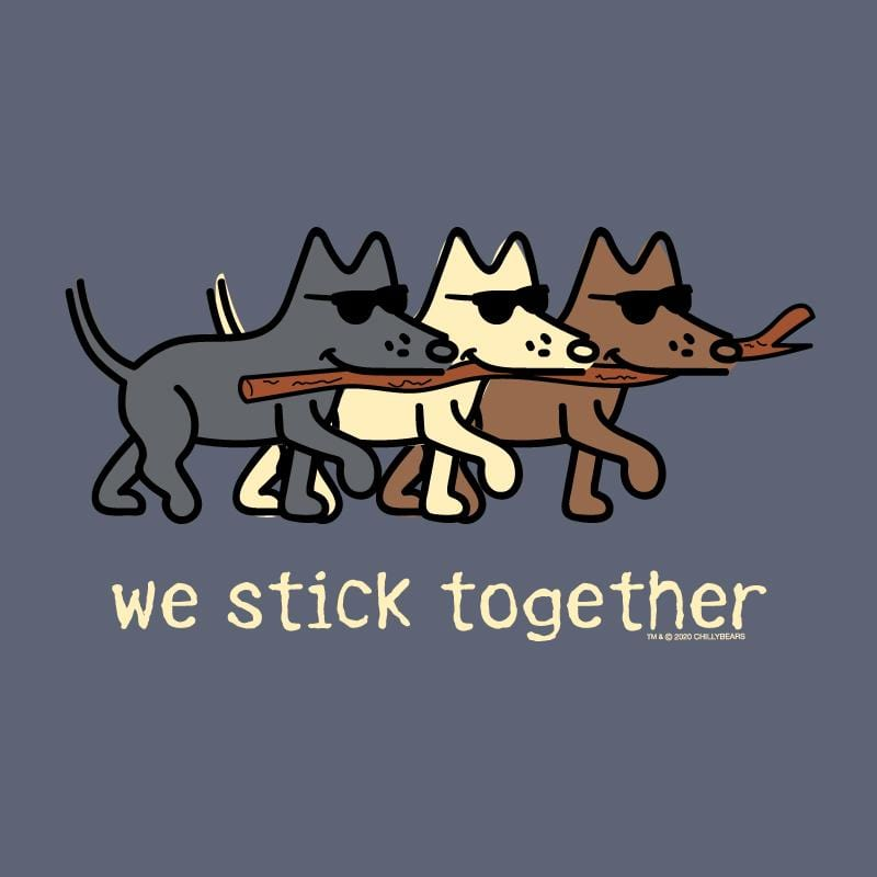 We Stick Together  - Classic Long-Sleeve T-Shirt