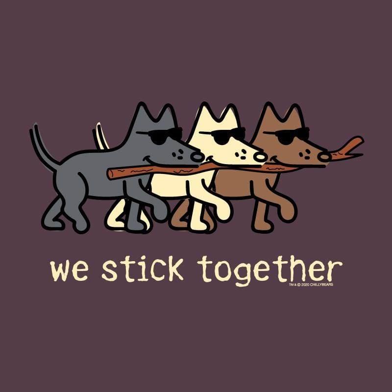 We Stick Together - Long-Sleeve Hoodie T-Shirt