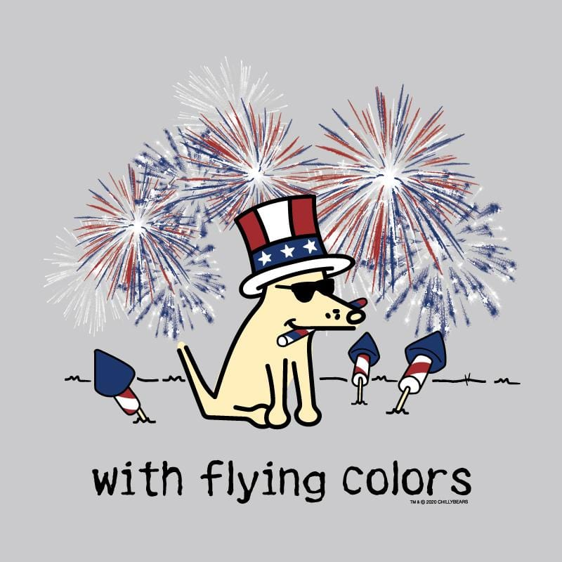 With Flying Colors - Lightweight Tee