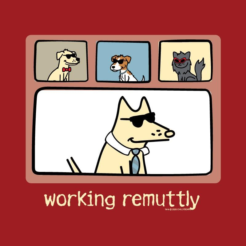 Working Remuttly - Ladies T-Shirt V-Neck