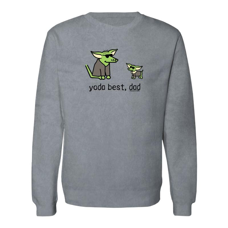 Yoda Best, Dad - Crew Neck Sweatshirt