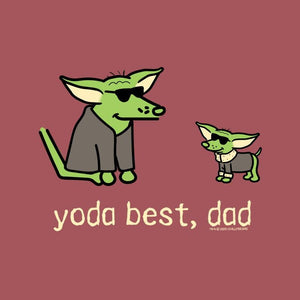 Yoda Best, Dad - Lightweight Tee