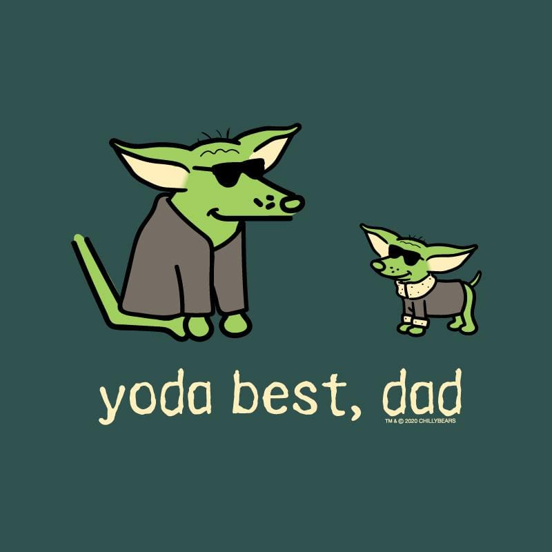 Yoda Best, Dad  - Classic Long-Sleeve T-Shirt