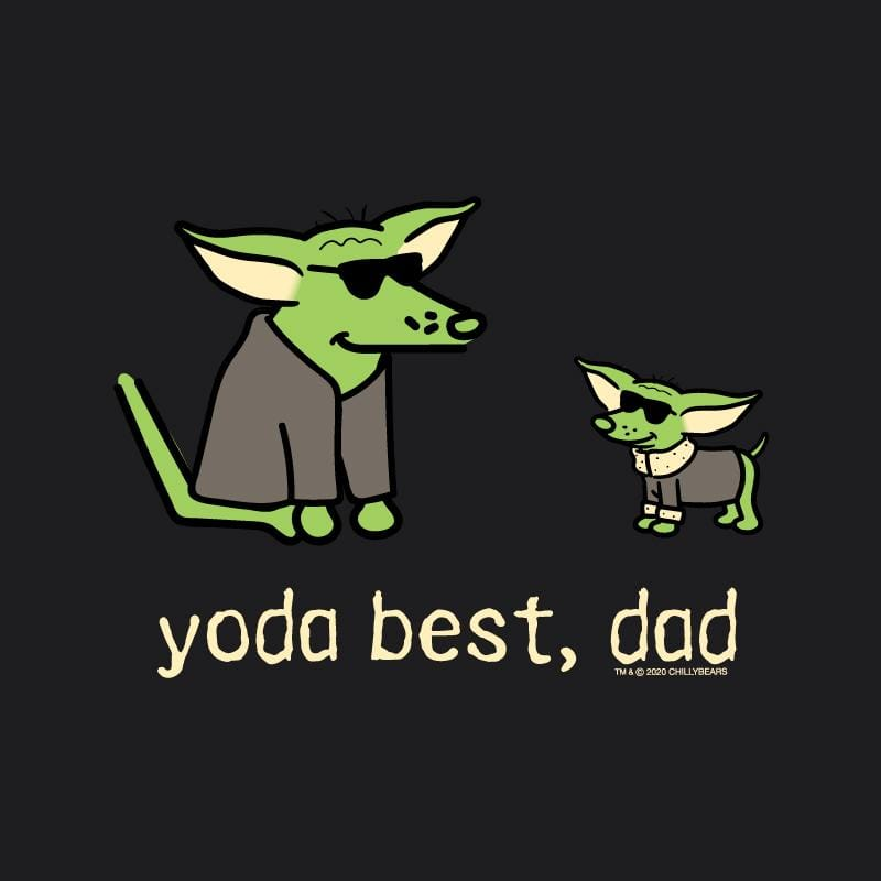 Yoda Best, Dad - Long-Sleeve Hoodie T-Shirt