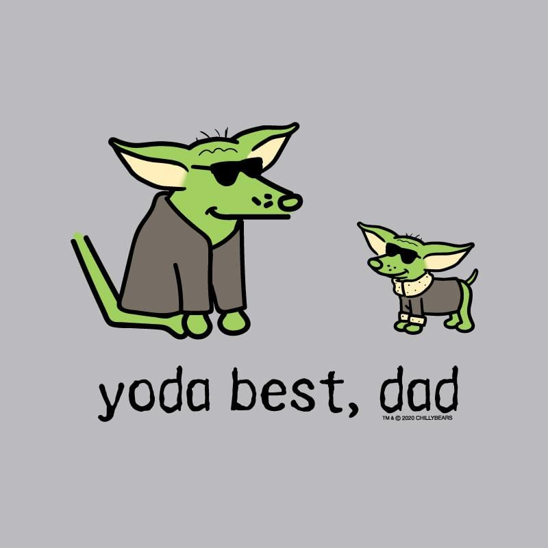 Yoda Best, Dad - T-Shirt - Kids