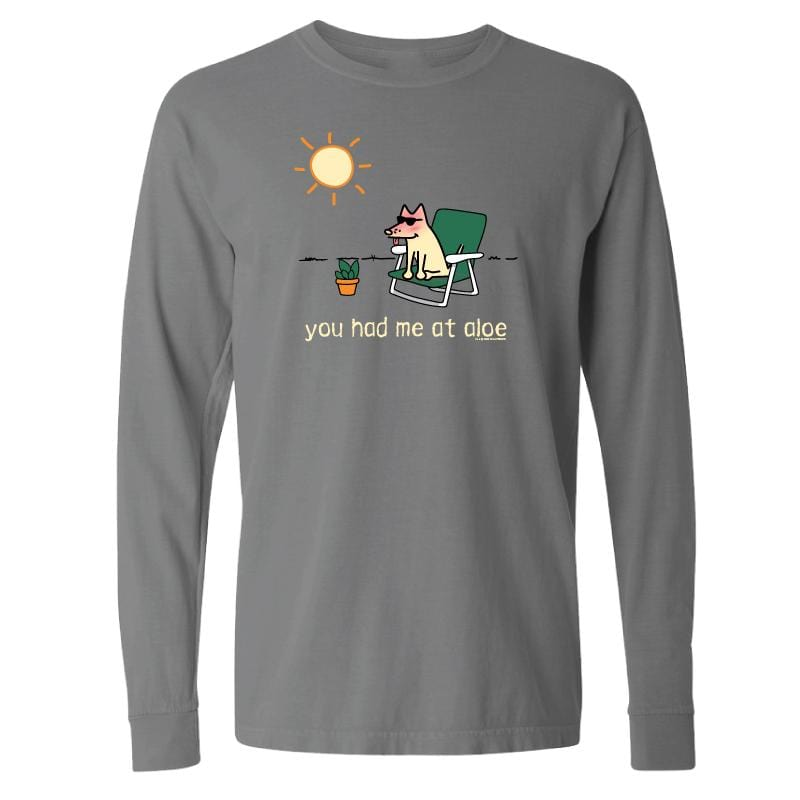 You Had Me At Aloe - Classic Long-Sleeve T-Shirt
