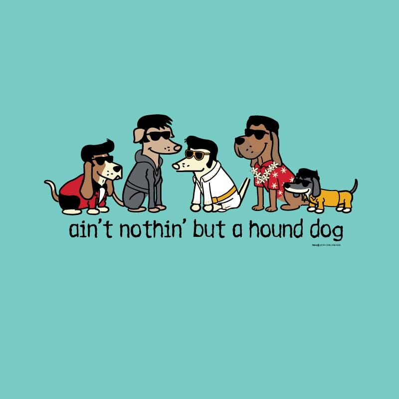 Ain't Nothin' But A Hound Dog - Ladies Curvy V-Neck Tee