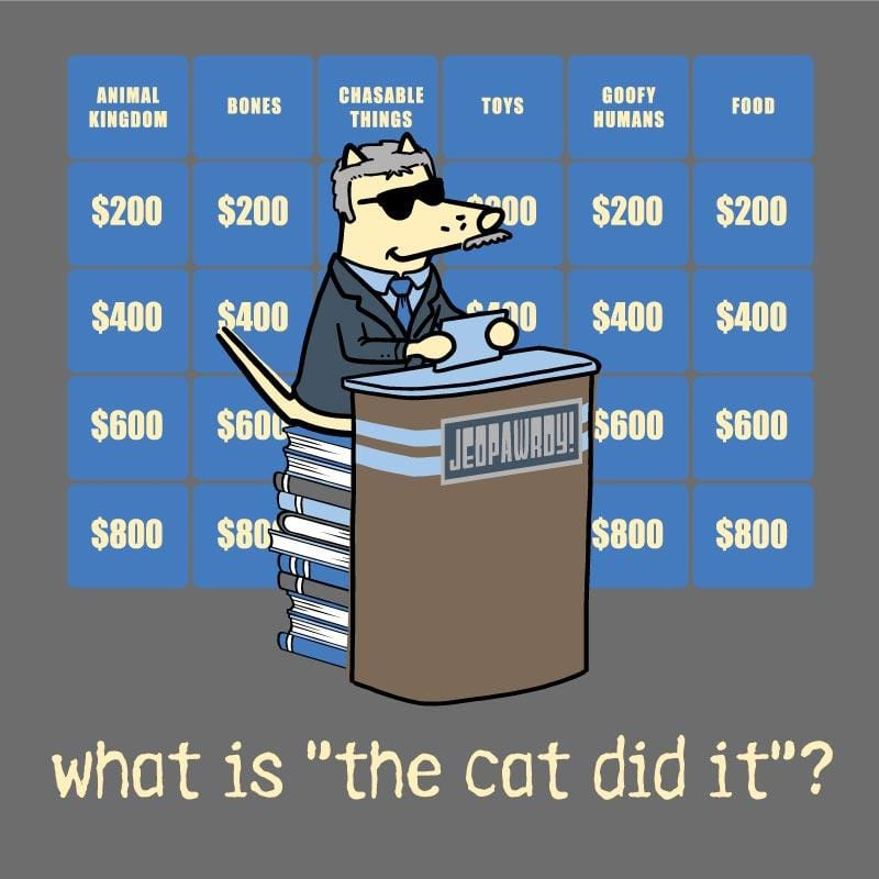 "What Is ""The Cat Did It""?  - Classic Long-Sleeve T-Shirt"