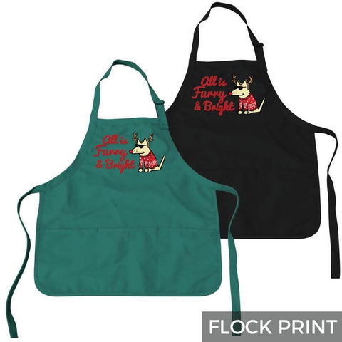 All Is Furry and Bright - Apron