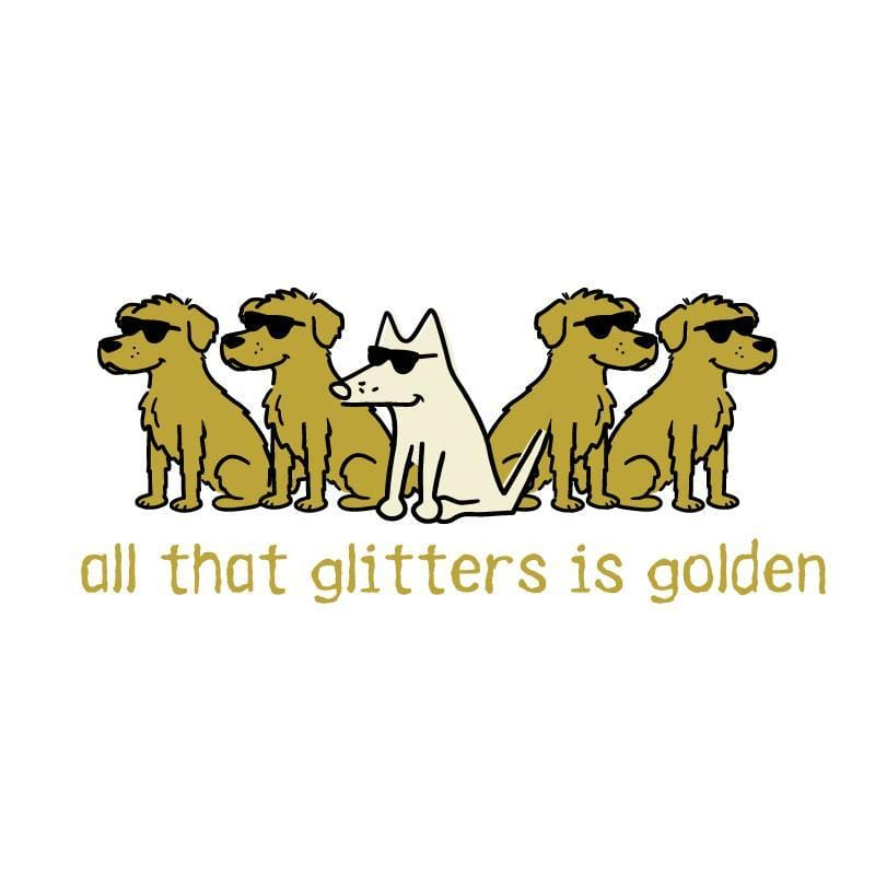 All That Glitters Is Golden - Coffee Mug - Teddy the Dog T-Shirts and Gifts