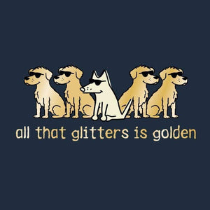 All That Glitters Is Golden - Classic Tee - Teddy the Dog T-Shirts and Gifts