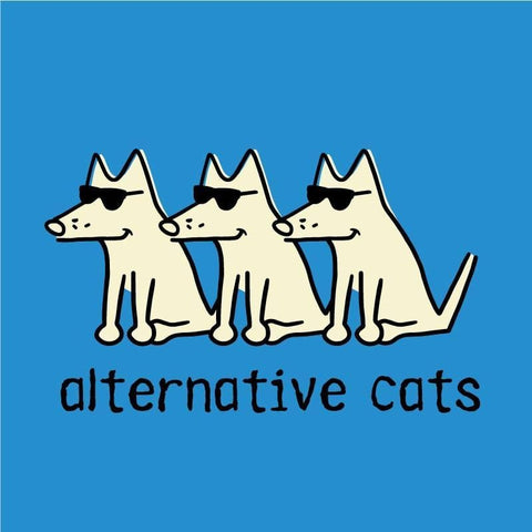 Alternative Cats Canvas Tote Bag - Teddy the Dog T-Shirts and Gifts
