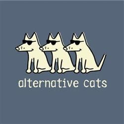 Alternative Cats T-Shirt - Classic Garment Dyed - Teddy the Dog T-Shirts and Gifts