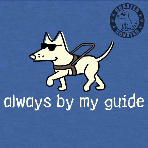 Always By My Guide - Lightweight Tee - Teddy the Dog T-Shirts and Gifts