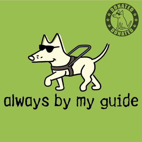 Always By My Guide - Canvas Tote - Teddy the Dog T-Shirts and Gifts