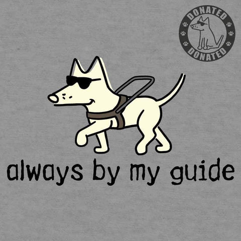 Always By My Guide - Youth T-Shirt - Teddy the Dog T-Shirts and Gifts