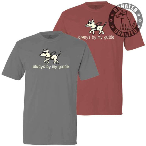 Always By My Guide - Classic Tee - Teddy the Dog T-Shirts and Gifts